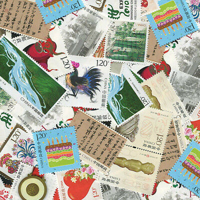 Random Send-Assorted Chinese Stamp Collection Old Value Worldwide Stamps Hot