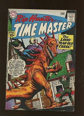Rip Hunter Time Master 1 FN 6.0 * 1 Book Lot * The 1,000 Year Old Curse! Andru!