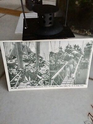 WW2 Postcard US Navy Seabees Camp Peary,Virginia