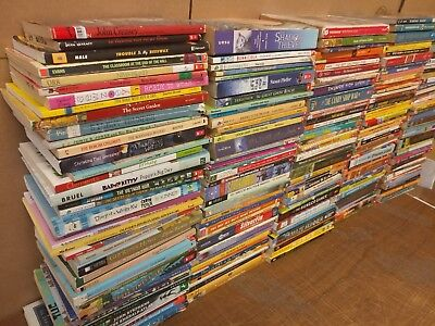 Lot of 200 Chapter Youth Early Reader Young Adults Children Book for BOYS RL MIX