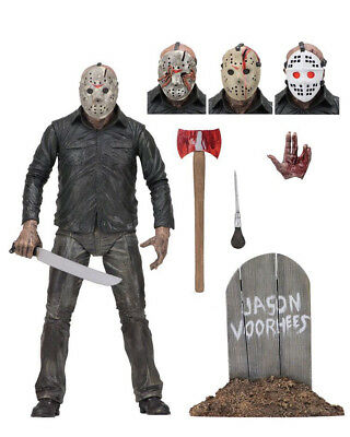 "Friday the 13th Final Chapter JASON VOORHEES 7"" Scale Auction Loose Figure"