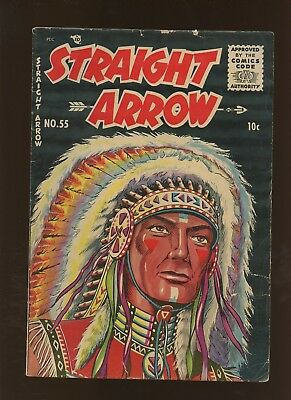 Straight Arrow 55 VG+ 4.5 * 1 Book Lot * Sussex Publishing 1956!
