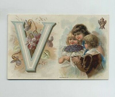 Small 1800's Advertising Trade Card Dilworth's Coffee Pittsburgh PA bv9622