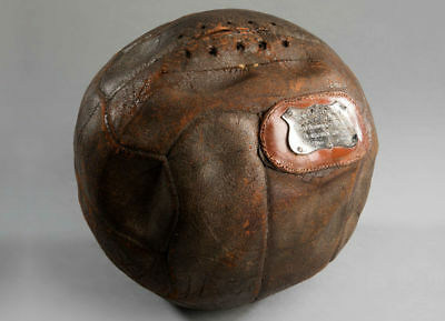Fa Cup Semi Final Match Ball 1912 West Bromwich Albion V Blackburn - Very Rare