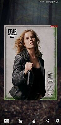 Topps the walking dead card trader madison 5cc action award rare