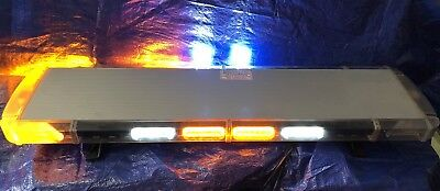 Whelen Lfl Liberty Super Led Lightbar Lr-11 Takedowns Alleys * Amber - White *