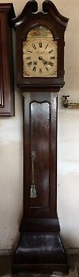 Antique 1771? Continental Grandfather  Clock with Bombe Case