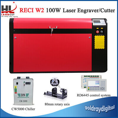 100W 960*600Mm Co2 Laser Engraving Machine Engraver Cutter Wood Working/Crafts