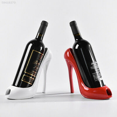 9D32 5333 High Heel Shoe Wine Bottle Holder Stylish Rack Gift Basket Accessories