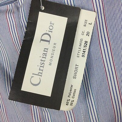 01ccd7f79a2 Deadstock NWT Christian Dior Vtg 80s 90s Mens Large Red White Blue Stripe  Shorts