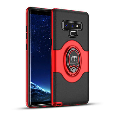 For Samsung Galaxy S9/S8+/Note 9 8 Ring Holder Shockproof Armor Case Cover Lot