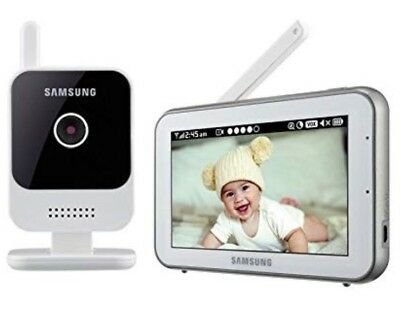 """Samsung RealVIEW 5"""" Touch Screen HD Video Baby Monitoring SEW-3042W, White"""