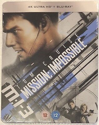 Mission Impossible 3 4K Ultra HD Steelbook - Limited Edition Blu-Ray