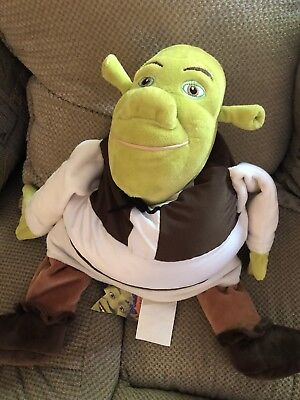 DreamWorks Rare Shrek Sewn Vest Third 3rd Buddy Pillow New With Tag