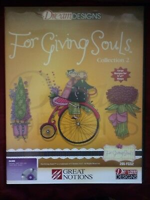 Brother CD Dream Design  For Giving Souls Collection 2   205-FGS2