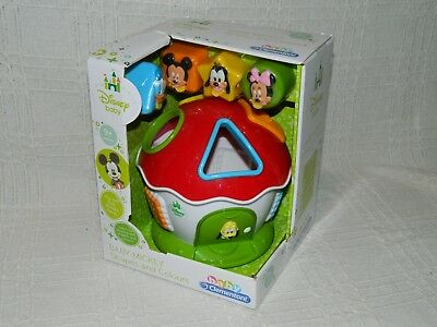 Disney Baby Mickey Shapes and Colours Toy Boxed New