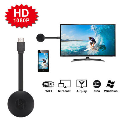 MiraScreen 1080p Wireless WiFi Display TV Dongle Receiver Miracast Airplay AH334