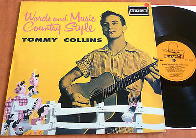 """Tommy Collins - Words and Musik Country Style /12""""Vinyl LP Schallplatte"""