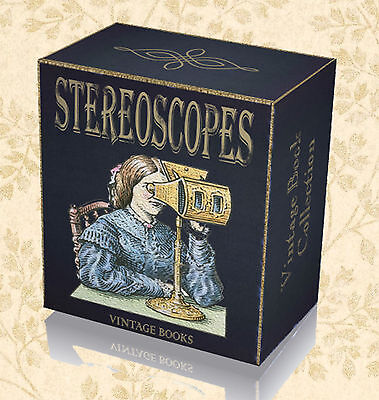 85 Rare Stereoscope Books on DVD Photography History Optical Glass Instrument B2