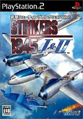 USED PS2 ​​SaiMiyako Shooting Collection Vol.1 STRIKERS1945 I & II