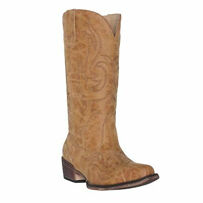 Women's Western Cowgirl Cowboy Boot | Brown Reno Square Snip Toe by Silver Canyo