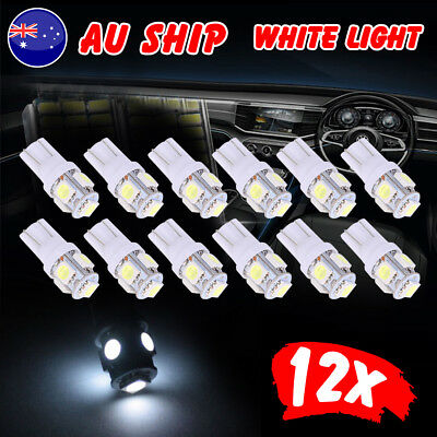 T10 LED 5050 SMD W5W Car Number Plate White Light Wedge Tail Side Parker Bulb