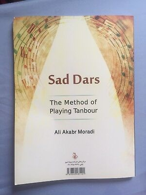 Tanbour Learning Book By Maestro Aliakbar Moradi With Double Cd.