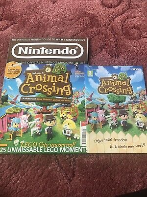 nintendo magazine Issue 94 Animal Crossings Special