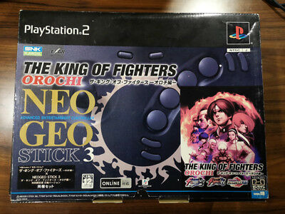 King of Fighters Orochi PS2 Japan Neo Geo Stick Kusanagi Kyo Limited Edition
