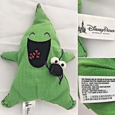 Nightmare Before Christmas Oogie Boogie Disney Parks 10in Plush Beanie Soft Toy