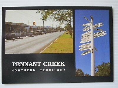 Postcard -Tennant Creek Nt  - Postage $1.50