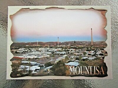 Postcard Mount Isa North West Queensland    - Postage $1.50