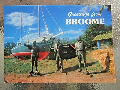 Postcard Greetings From Broome Wa - Postage $1.50