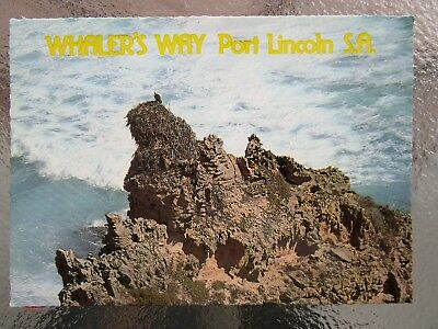 Postcard Whaler's Way Port Lincoln South Australia  - Postage $1.50