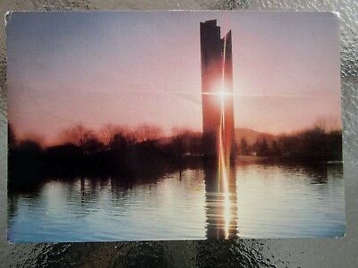Postcard The Carillon At Sunsey Canberra Act  Postage $1.50