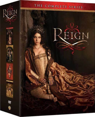 Reign - The Complete Series Seasons 1 2 3 & 4 Brand New Sealed DVD Box Set 1-4