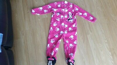 Baby Girls Minnie Mouse All In One Suit 18-24 Months