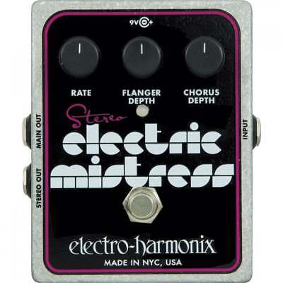 Electro Harmonix Stereo Electric Mistress Chorus / Flanger Pedal for Guitar