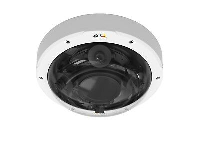 NEW Axis Communications P3707-PE 8MP Outdoor Dome Camera with 4 Sensors 0815-001