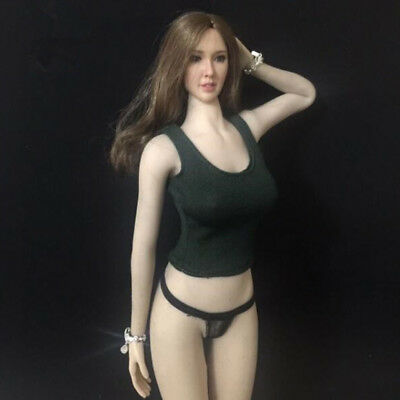 1/6 Scale Female Slim Vest for 12'' Hot Plus/Phicen Action Figure Doll Toy B