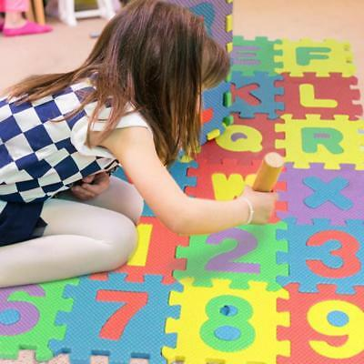 36pcs/Set Letters Numerals Puzzle Pad Kids Rug Soft Crawling Floor Play Mat Toys