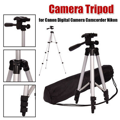 US Professional Tripod Stand Camcorder Light weight for Canon Nikon Camera DSLR