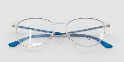 5ae97c73cc Ray-Ban Vista Phantos Opticals Prescription Glasses - White blue