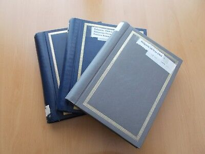 Bulgaria - 1879 to 1995 collection in 3 volumes. See Pics for Details.