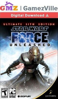 Star Wars The Force Unleashed: Ultimate Sith Edition Steam PC Download