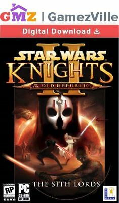 STAR WARS Knights of the Old Republic 2 II The Sith Lords Steam Key PC Download
