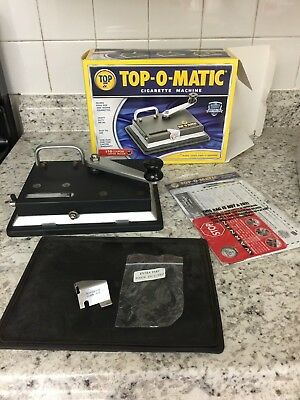 TOP-O-MATIC Cigarette Rolling Machine NIB