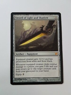 Sword of Light and Shadow Modern Masters NM-M Artifact Mythic Rare CARD ABUGames