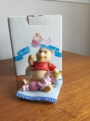 Boxed Pooh & Friends 'Being With You Is My Favorite Way To Be' Figurine