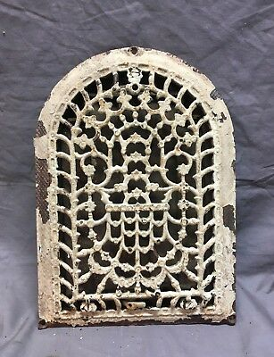 Antique Cast Iron Arch Dome Top Floor Register Heat Grate 8x12 Old Vtg 71-18C